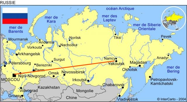 Une autoroute russe hallucinante - Office de tourisme moscou ...