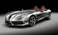 thumbs mercedes benz mclaren slr stirling moss 1 Salon de Genve 2009: Prsentation de la Mercedes McLaren SLR Stirling Moss