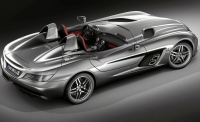 thumbs mercedes benz mclaren slr stirling moss 2 Salon de Genève 2009: Présentation de la Mercedes McLaren SLR Stirling Moss
