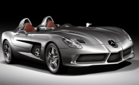 thumbs mercedes benz mclaren slr stirling moss Salon de Genève 2009: Présentation de la Mercedes McLaren SLR Stirling Moss