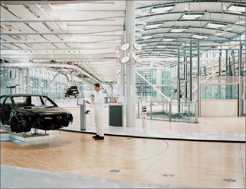 vw5 Visite guidée dune usine Volkswagen