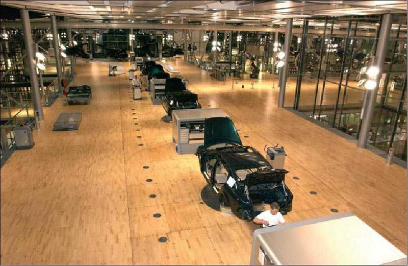 vw6 Visite guidée dune usine Volkswagen