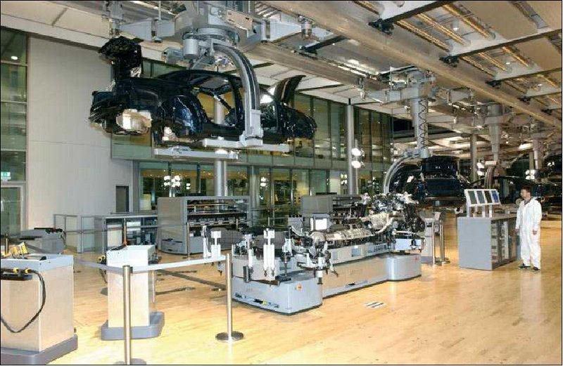 vw9 Visite guidée dune usine Volkswagen